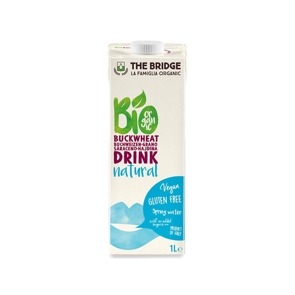 Organic Rice Drink With Buckwheat (1000ml)