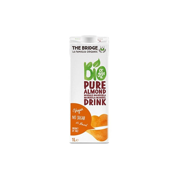 Organic Pure Almond Drink 6% (1L)