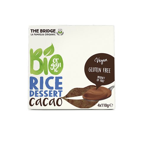 Organic Rice Dessert With Cocoa (440g)