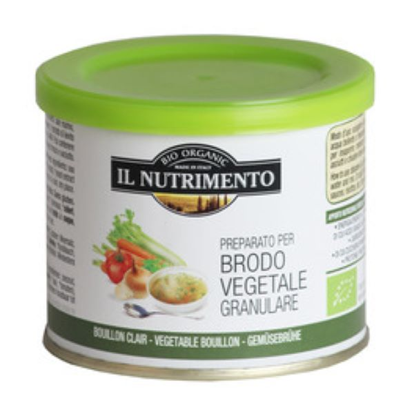 Organic  Brodo Vegetable Granulare  ( 120g )