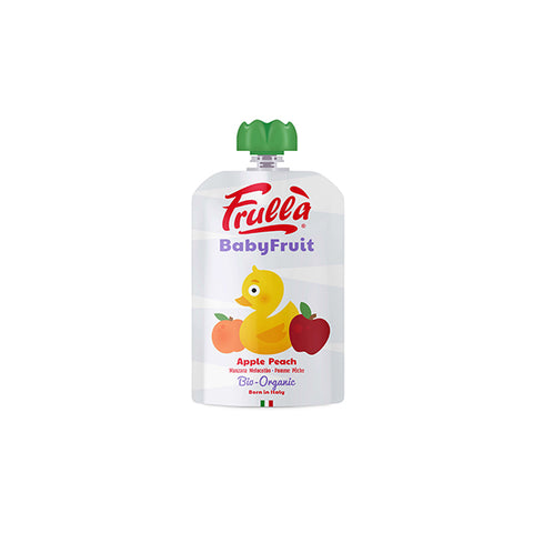 Organic Apple & Peach Puree  ( 100g )