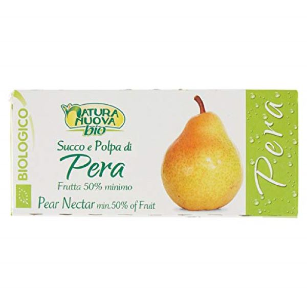 Organic Pear Nectar Juice (3*200ml)