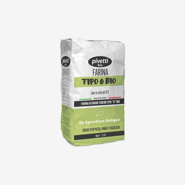 Organic Wheat Flour Type 0 (1kg)