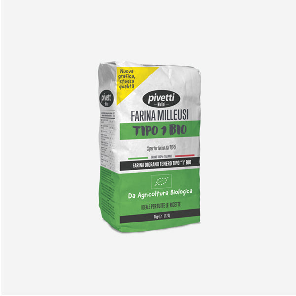 Organic Soft Wheat Flour Type 1 (1kg)