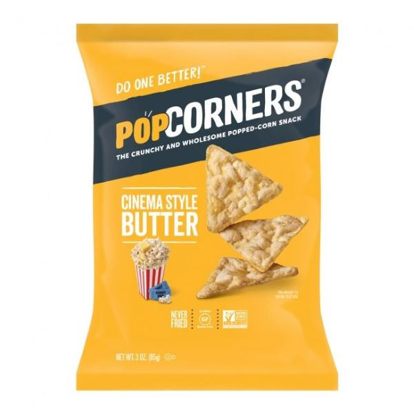 Popcorn Chips Butter 142g Juthour