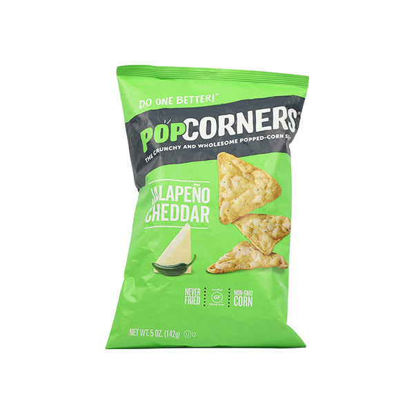 Popcorn Chips Cheesy Jalapeno (142g)
