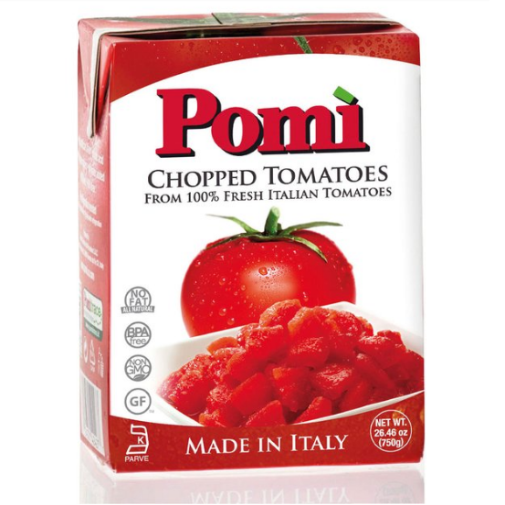 "Chopped Tomatoes ""All Natural"" (750g)"
