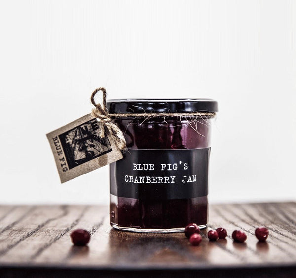 Blue Fig Jars : Cranberry Jam