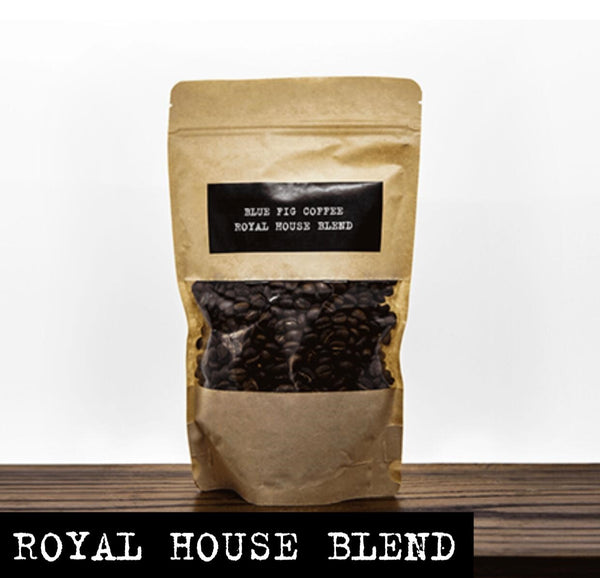 BLUE FIG GOURMET COFFEE : Royal House Blend