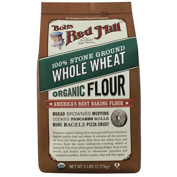 Organic Whole Wheat Flour (2270g)