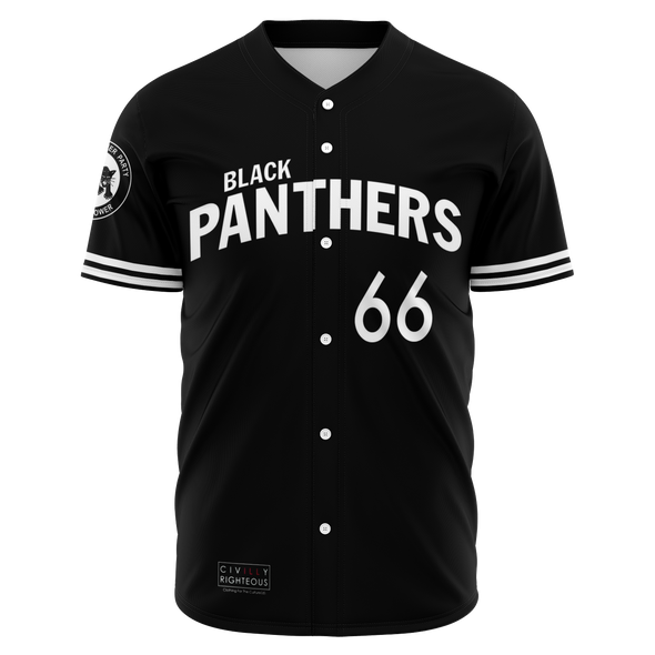 Stokely Carmichael, Black Panthers - Baseball Jersey