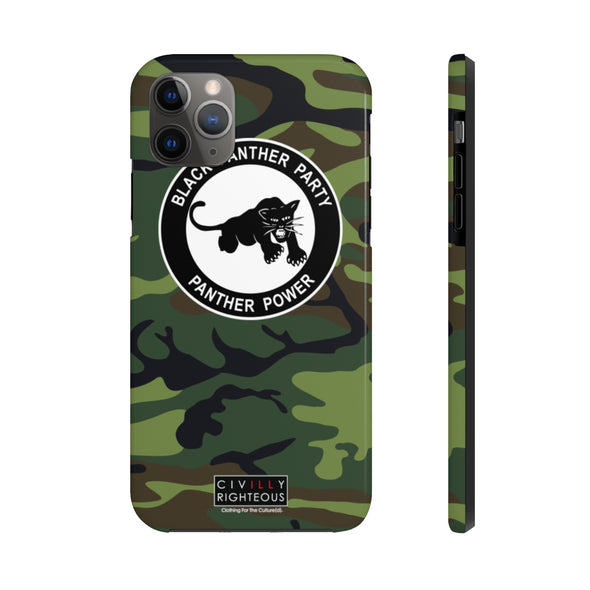 Black Panther Party, Camo - Phone Case