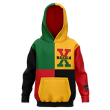 Malcolm X, 4 Square - Youth AOP Hoodie