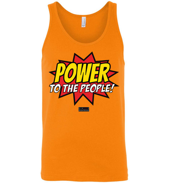 Power To The People! - Unisex Tank Top