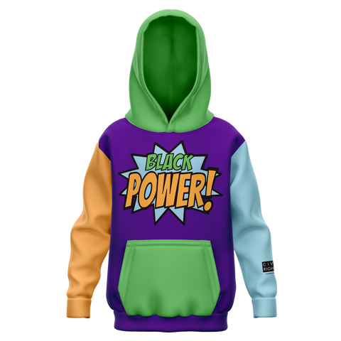 Black Power! - Youth AOP Hoodie