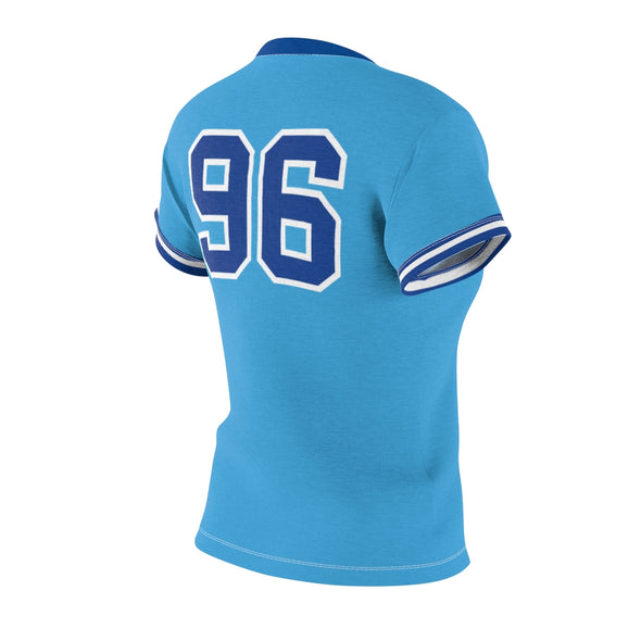 Atliens, Powder Blue - Ladies Pullover Jersey