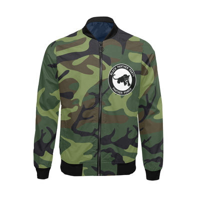 Black Panther Party, Camo - Big & Tall Bomber Jacket