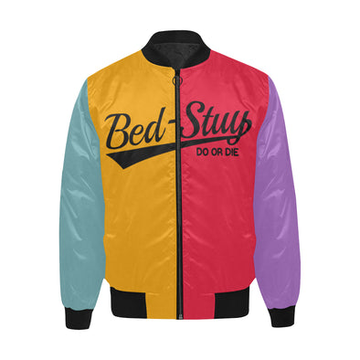 Bed-Stuy, Do Or Die - Quilted Bomber Jacket