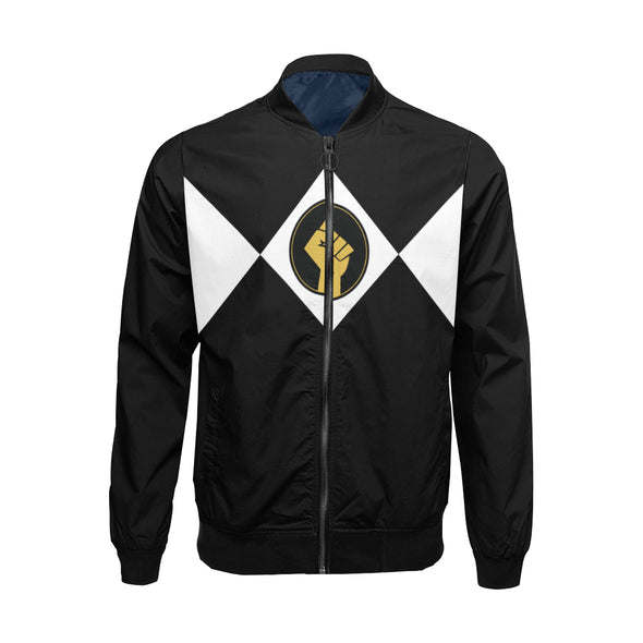 Black Power Fist - Lightweight Bomber Jacket