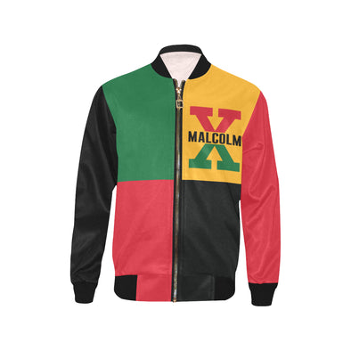 Malcolm X, 4 Square - Youth Bomber Jacket