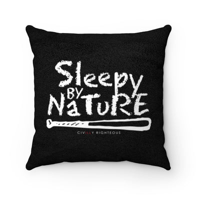 Sleepy By Nature - Faux Suede Pillow