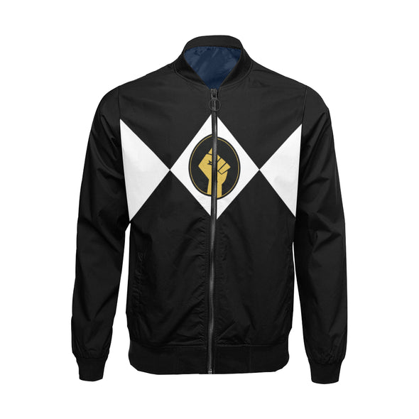 Black Power Fist - Big & Tall Bomber Jacket