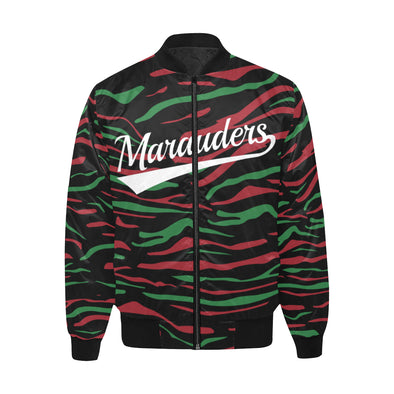 Marauders - Quilted Bomber Jacket