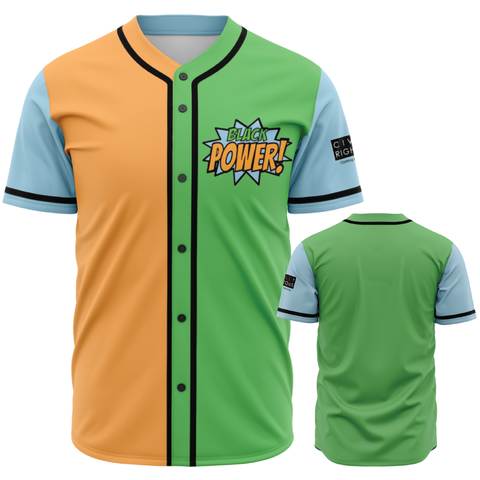 Black Power! - Baseball Jersey