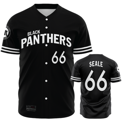 Bobby Seale, Black Panthers - Baseball Jersey