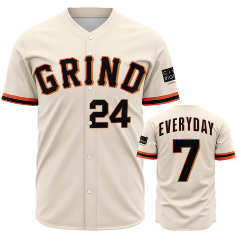 Grind Everyday - Baseball Jersey