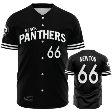 Huey Newton, Black Panthers- Baseball Jersey