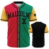 Malcolm X, Color Block - Baseball Jersey