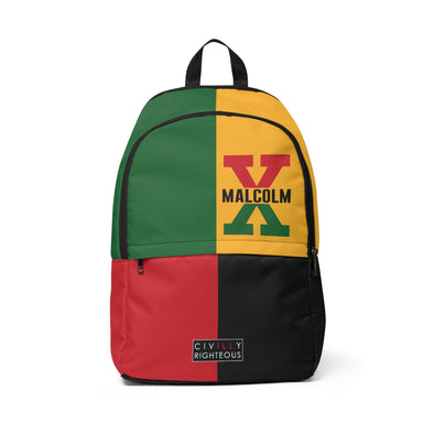 Malcolm X, 4 Square - Classic Backpack