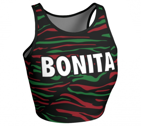 Bonita - Sleeveless Crop Top