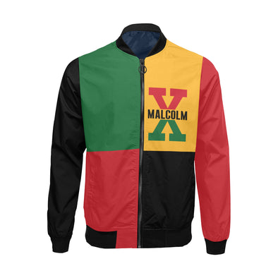 Malcolm X, 4 Square - Big & Tall Bomber Jacket