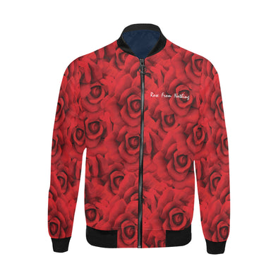 Rose From Nothing - Big & Tall Bomber Jacket