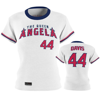 Angela Davis - Ladies Pullover Jersey