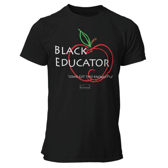 Black Educator - Unisex T Shirt