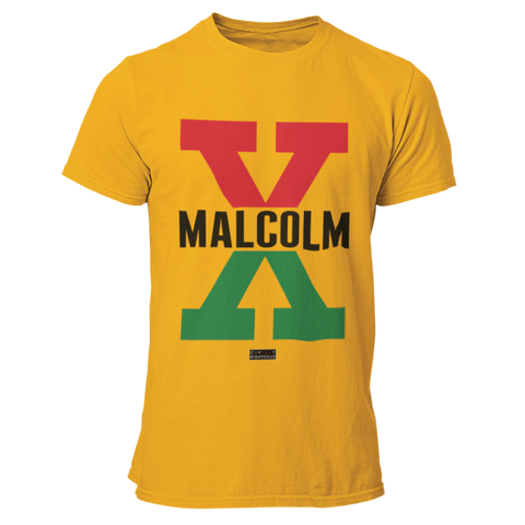 Malcolm X, Red and Green II - Unisex T Shirt