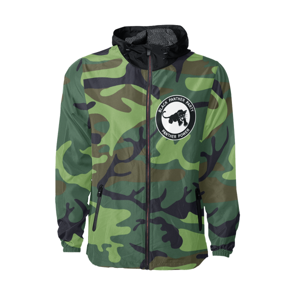 Black Panther Party, Camo - Windbreaker