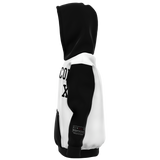 Malcolm X, Black and White - Youth AOP Hoodie