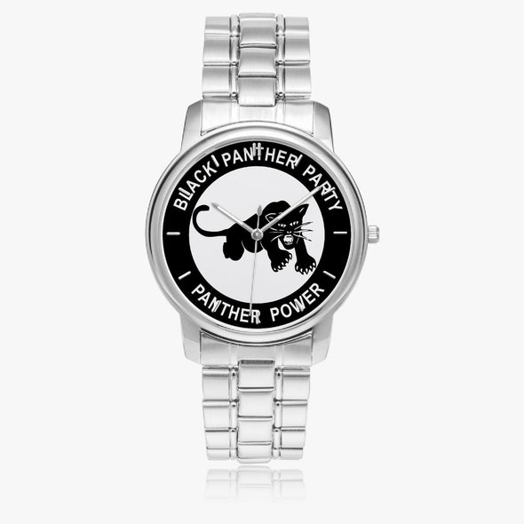 Black Panther Party - Stainless Steel Quartz Watch