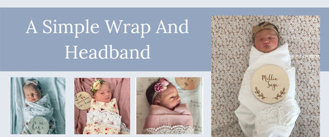 Simple Wrap and Headband