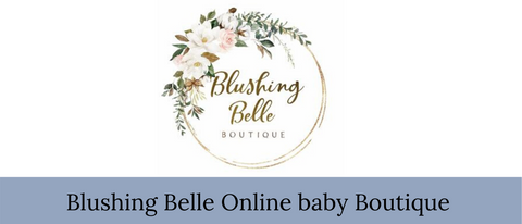 Blushing Belle online baby boutique store bbs