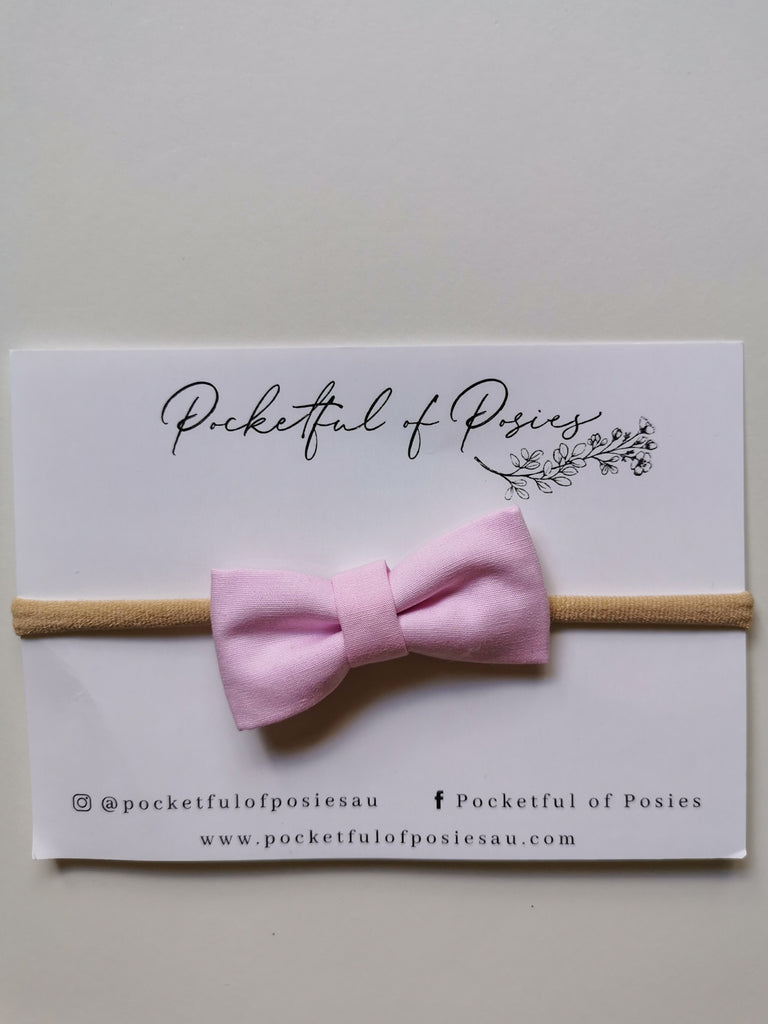 Pastel Pink Bow