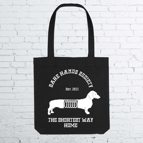 BHS DOG Black Totebag