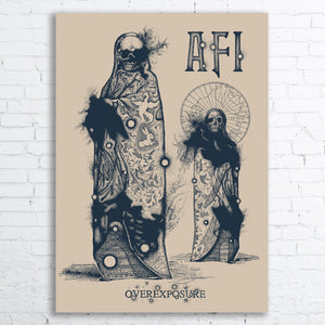 AFI 25-th Anniversary Limited Edition Screen Printed Poster