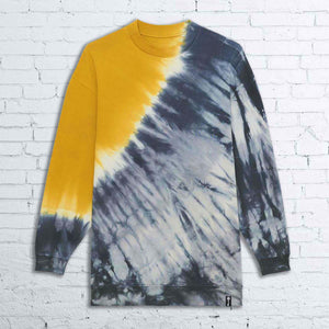 BHS Limited Edition UNISEX TIE AND DYE CREWNECK