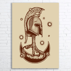 HELMET Screen Printed Poster