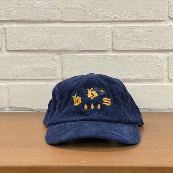BHS EMBROIDERY Six Panel Corduroy Cap
